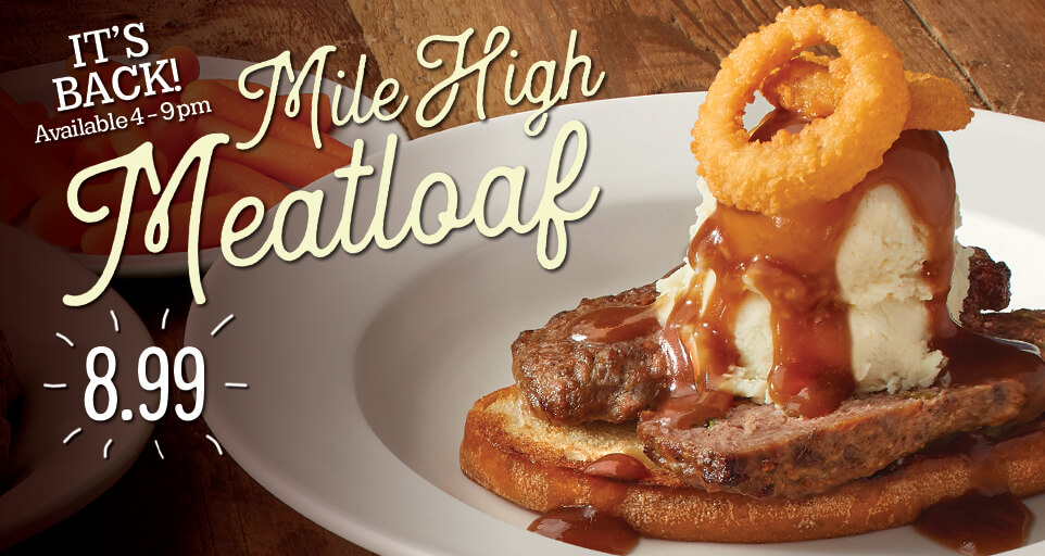 Mile High Meatloaf