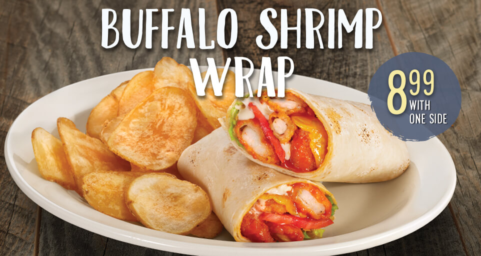 Buffalo Shrimp Wrap