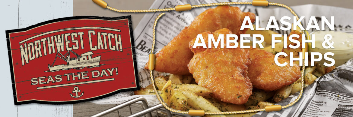Alaskan Amber Fish Chips